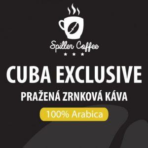 káva CUBA EXCLUSIVE